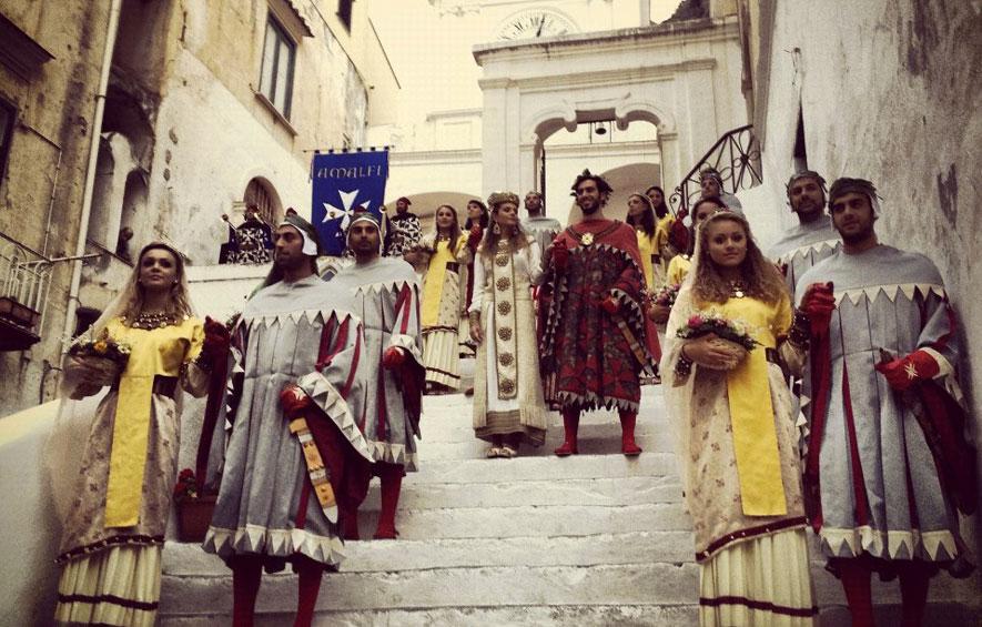 Ad Amalfi il Capodanno si festeggia d'estate