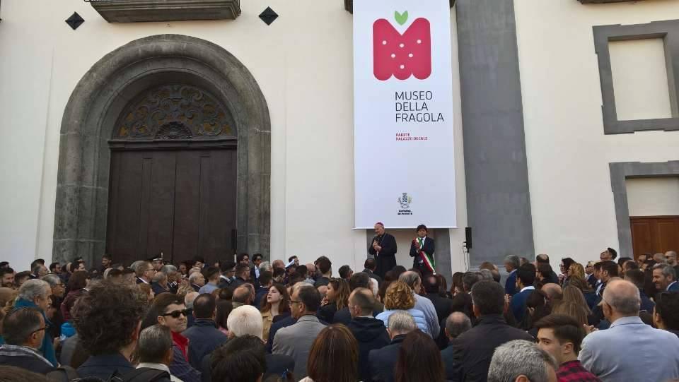 Museo della Fragola - inaugurazione - Mediateur