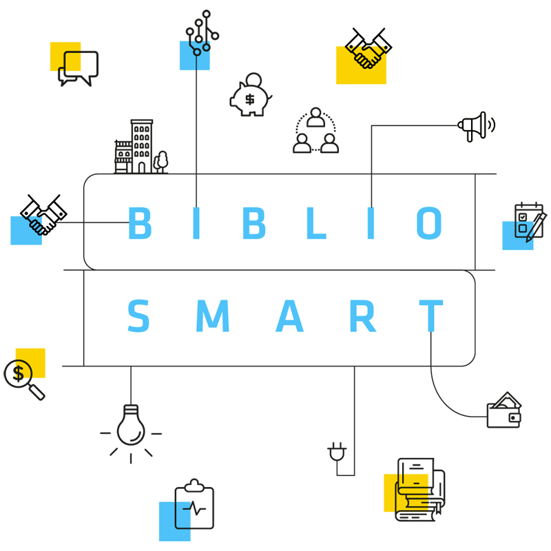 Biblio Smart - Logo - mediateur