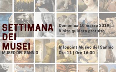 Settimana dei Musei – Visita guidata gratuita
