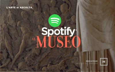 Spotify al Museo. L'arte si ascolta