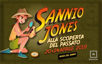 Sannio Jones alla scoperta del passato