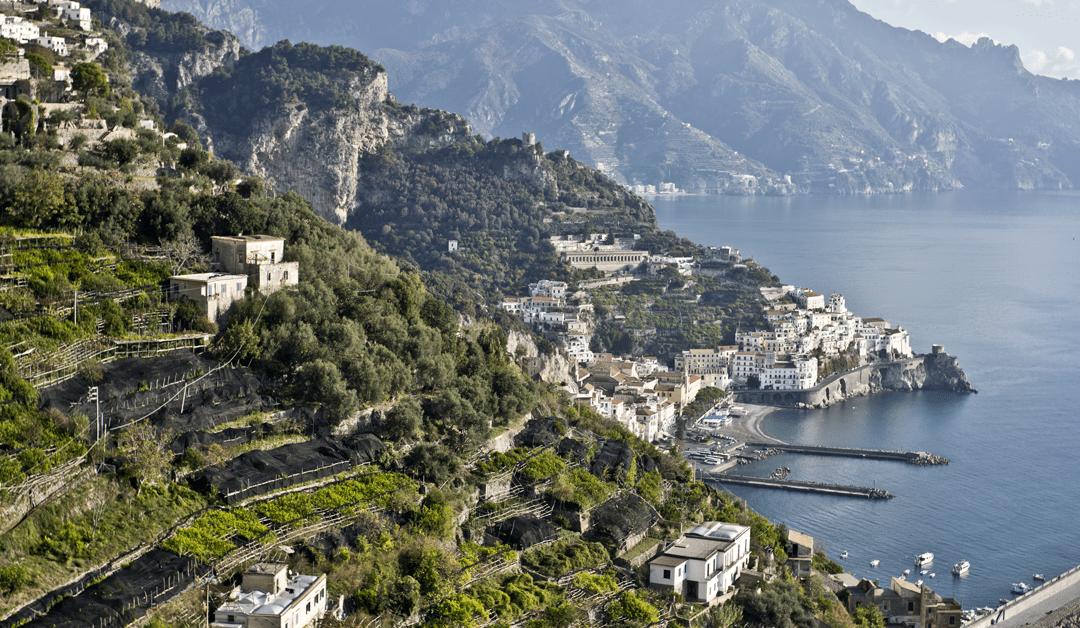 Amalfi paesaggio rurale storico