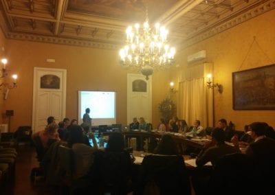 Workshop a Confindustria Napoli con Marianella Pucci Daniele Pitteri e Luciano de Venezia per la Baia di Napoli